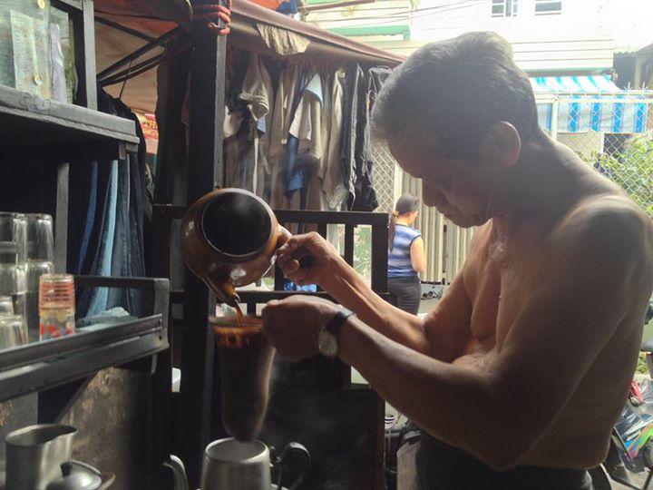 cà phê vợt, hương thơm kí ức