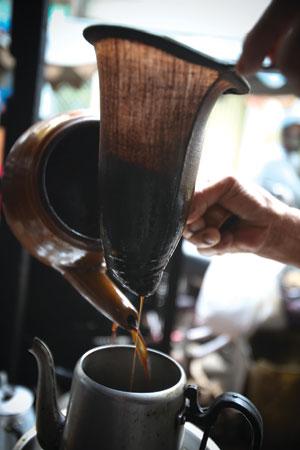cà phê vợt, vợt pha cafe